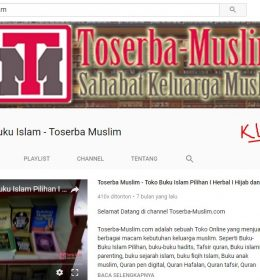 channel youtube toserba muslim